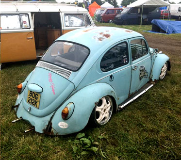Slammed Late Beetle at Volksfest
